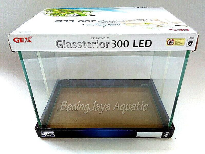 Gambar Daftar Harga Aquarium Kaca Untuk Ikan Hias-Aquarium GEX Glasterior 300