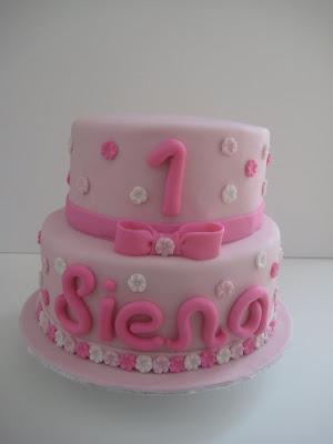 Cake Bites First Birthday Cake
