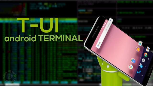 Usando o terminal Linux no Android