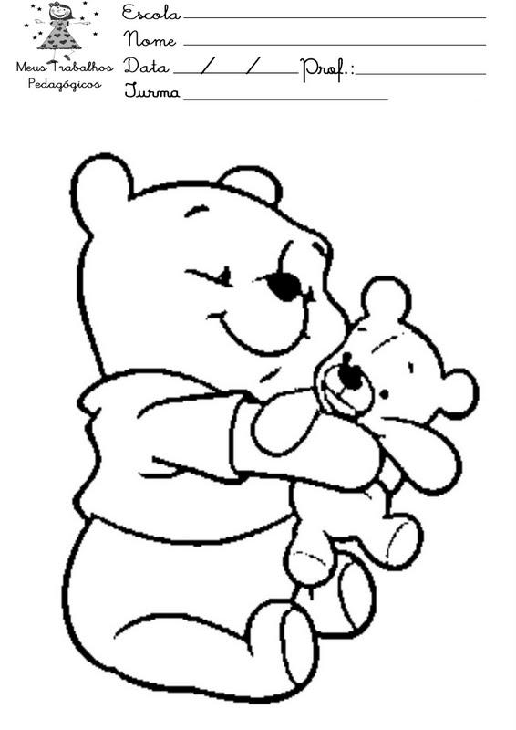 Blog MegaDiverso: Winnie the Pooh para imprimir y colorear