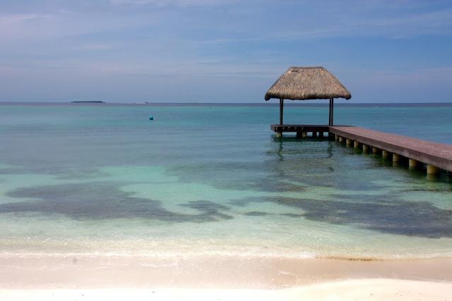 Turismo Sustentável na Isla Grande, uma das ilhas do Arquipélago de Rosário, no Caribe Colombiano.