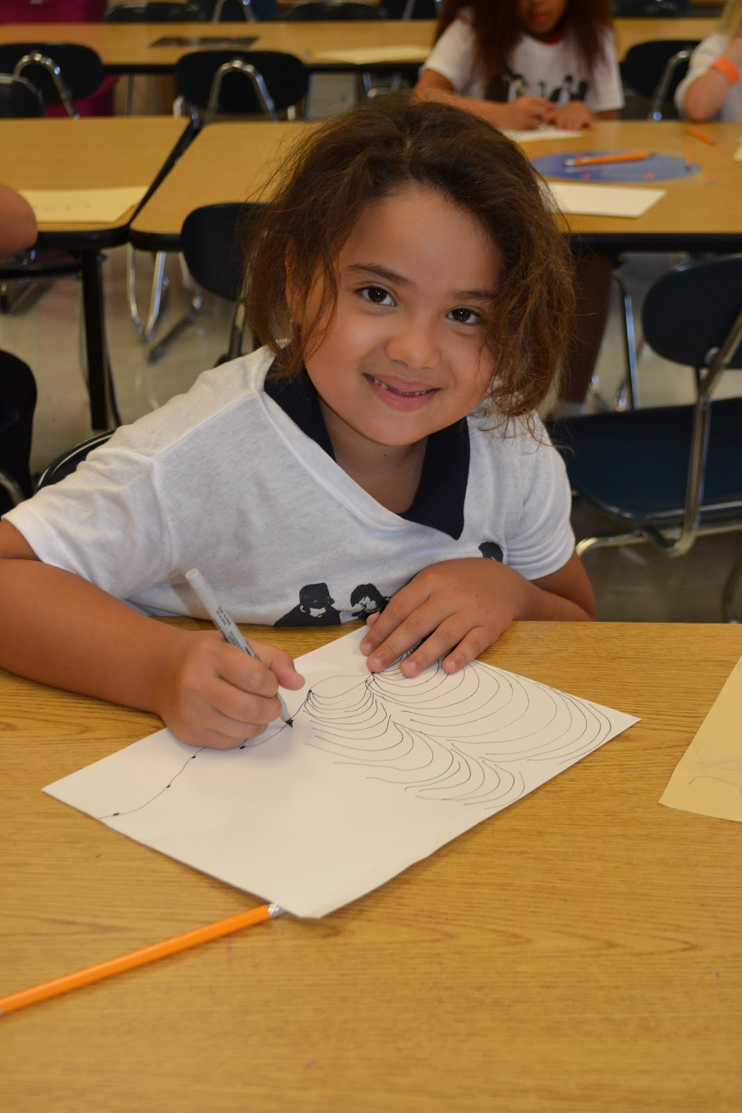 Jme Art 3rd Grade Op Art Lesson On Lines And Values