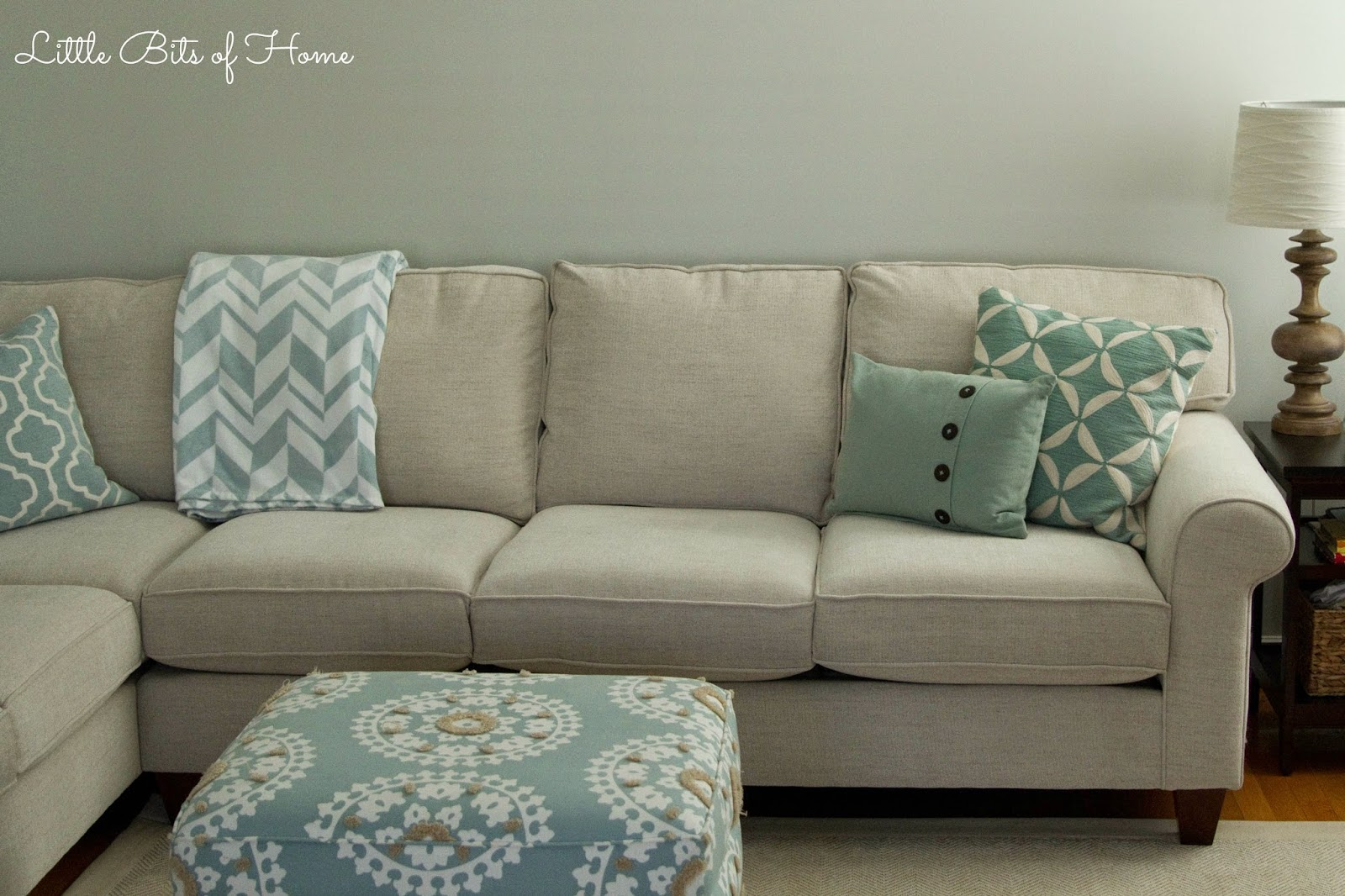 sofa redo tan leather chesterfield living room makeover couch