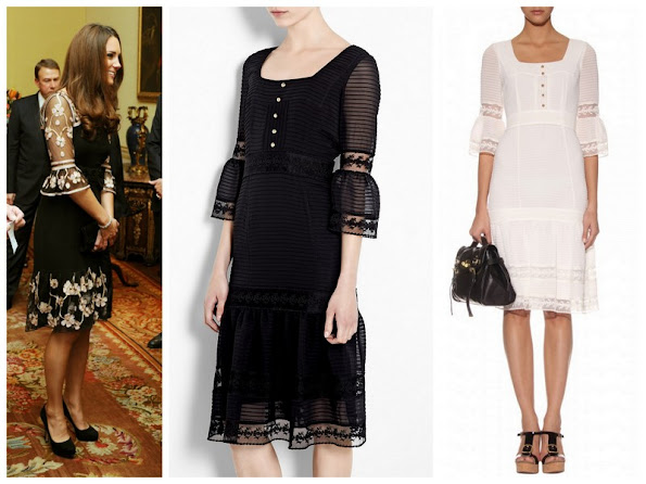 Duchess Catherine of Cambridge wore Alice by Temperley dress