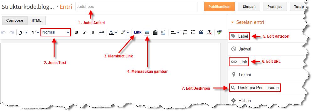 Cara Membuat blog Terbaru di Blogger untuk pemula Cara Membuat Blog Terbaru di Blogger : Lengkap
