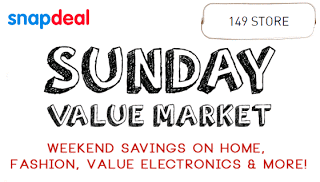 Snapdeal Sunday Value Market - Great Savings on Products (17th January 2016)