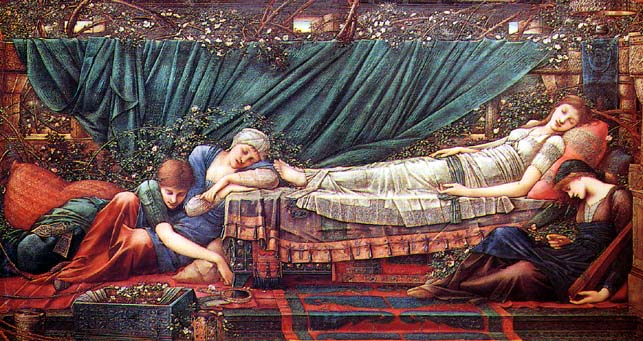 Burne-Jones Legend of Briar Rose