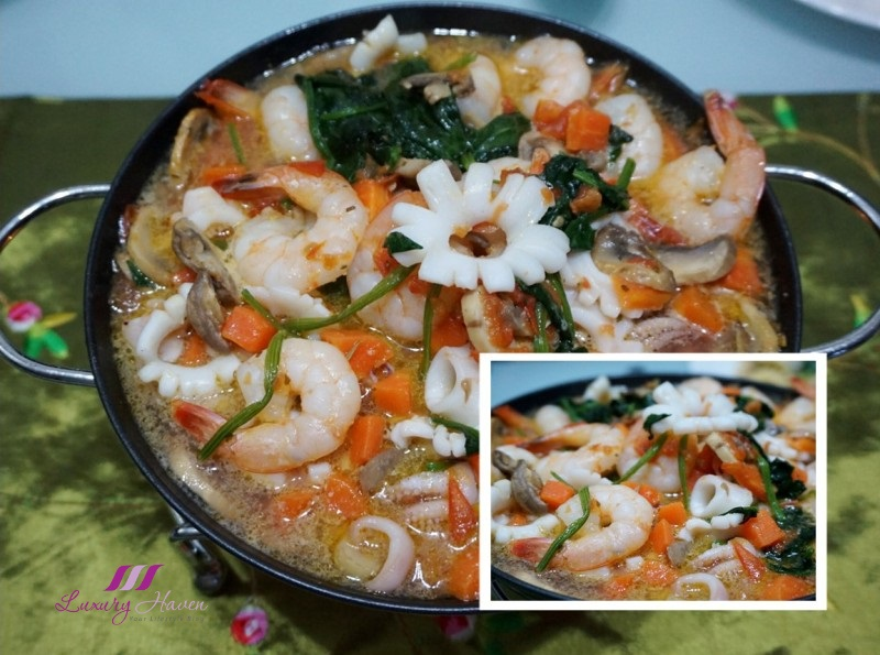 spanish appetizers daiso ahijo seasoning seafood recipe