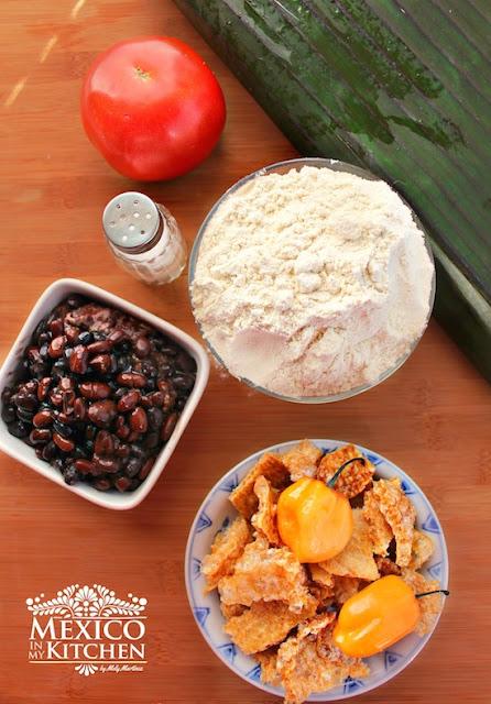 Black beans Tamales recipe