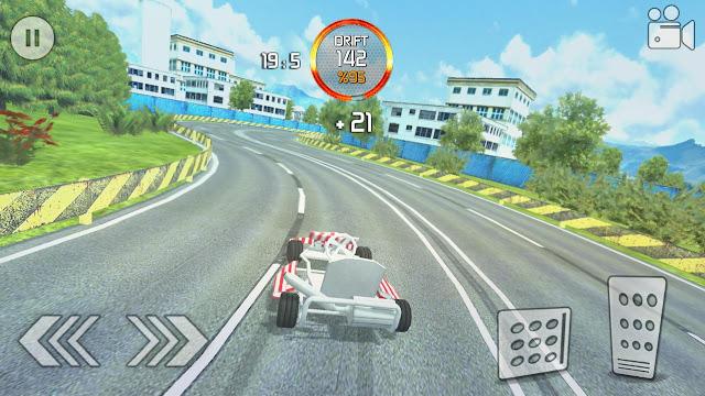 Go Kart Drift Racing v1.5 Apk Mod [Dinero]
