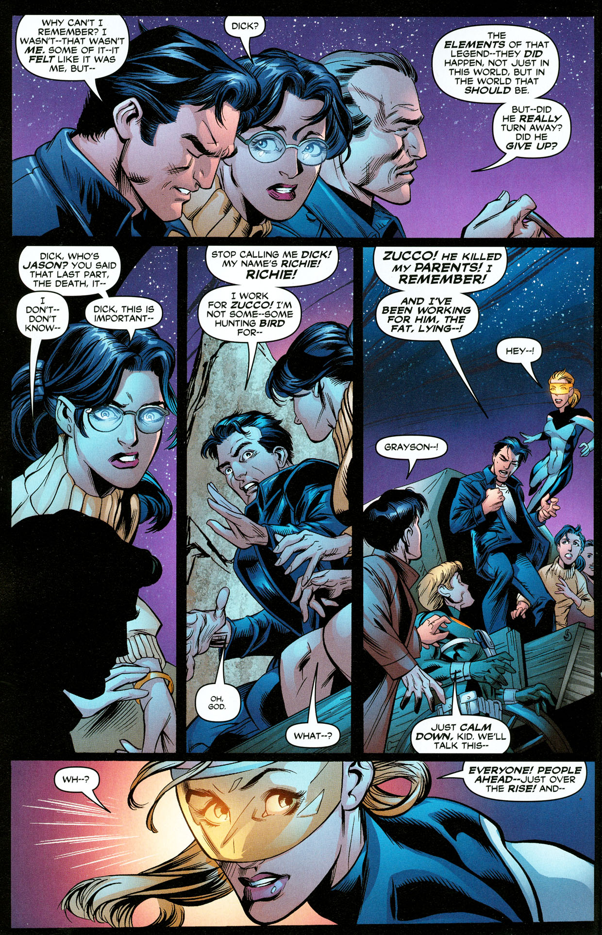 Read online Trinity (2008) comic -  Issue #32 - 6