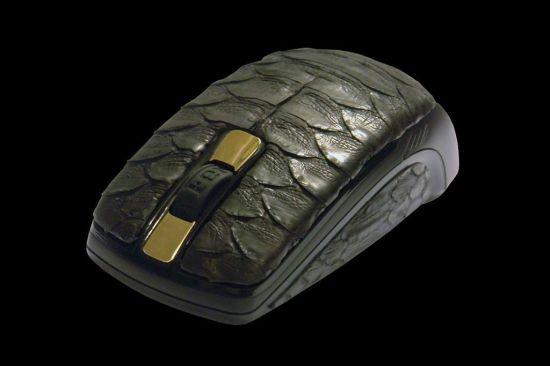 Python Leather Mouse by MJ adalah mouse dengan harga paling mahal di dunia