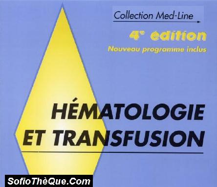 MedLine Hématologie et Transfusion PDF