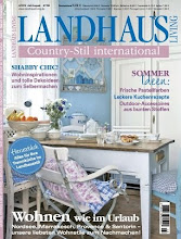 Our home featured in German magazine Landhaus...