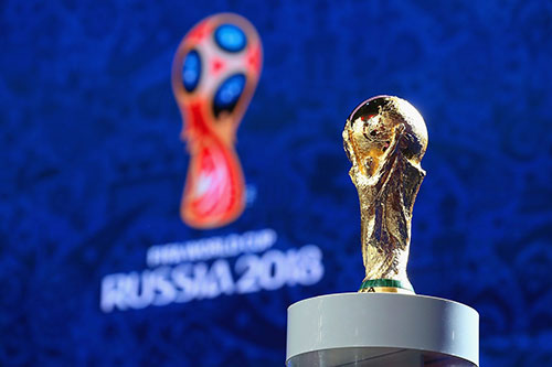 The final match will be held July 15 at the Luzhniki Stadium in Moscow.