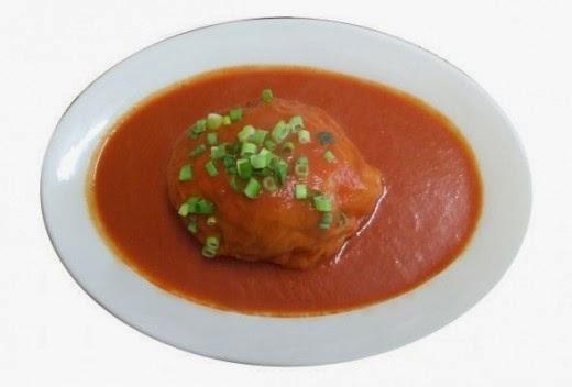 Polish Stuffed Cabbage Roll on plate