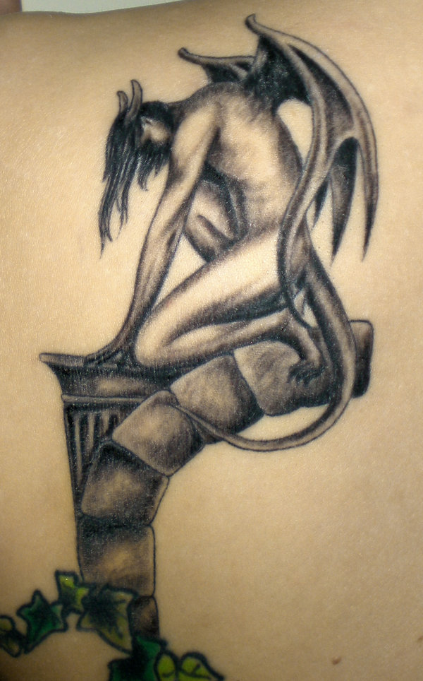 You have read this article with the title Gargoyle Tattoo Designs    Gargoyles Tattoos Meaning