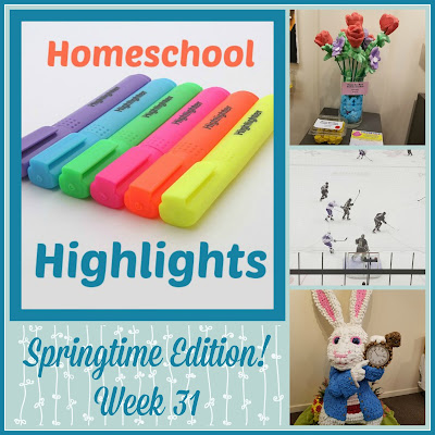 Homeschool Highlights - Springtime Edition! Week 31 on Homeschool Coffee Break @ kympossibleblog.blogspot.com