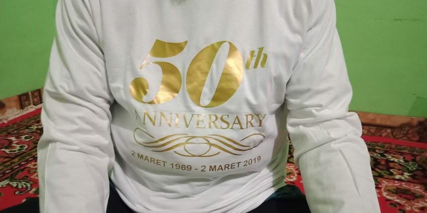 Rayakan Golden Anniversary untuk Usia Pernikahan Setengah Abad