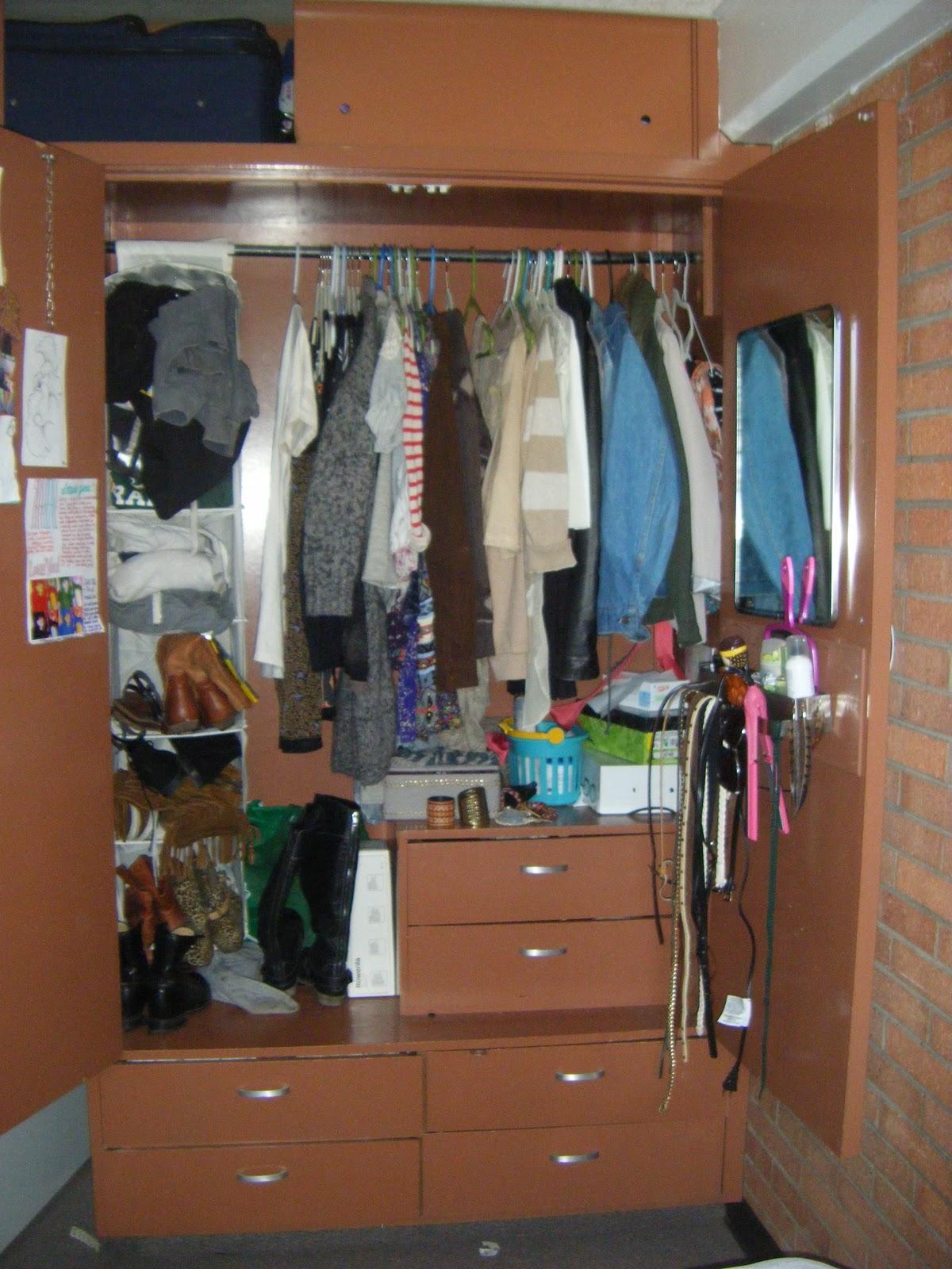 Dorm Room Closet: Dorm Life At CSU: Maximizing The Space In The Rooms