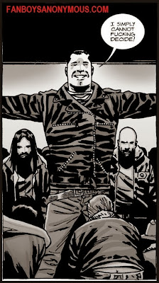 The Walking Dead Negan and the Saviours
