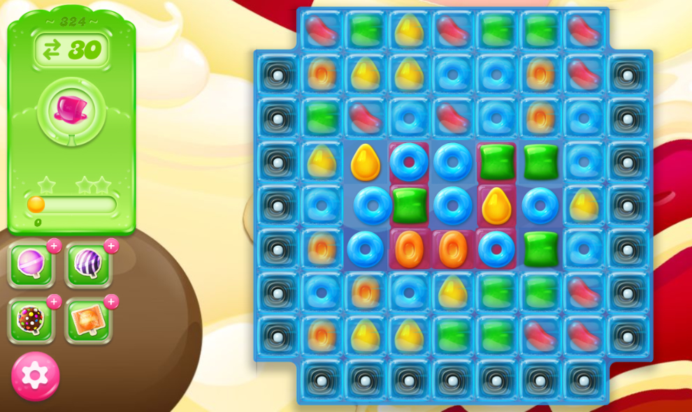 Candy Crush Jelly Saga 324
