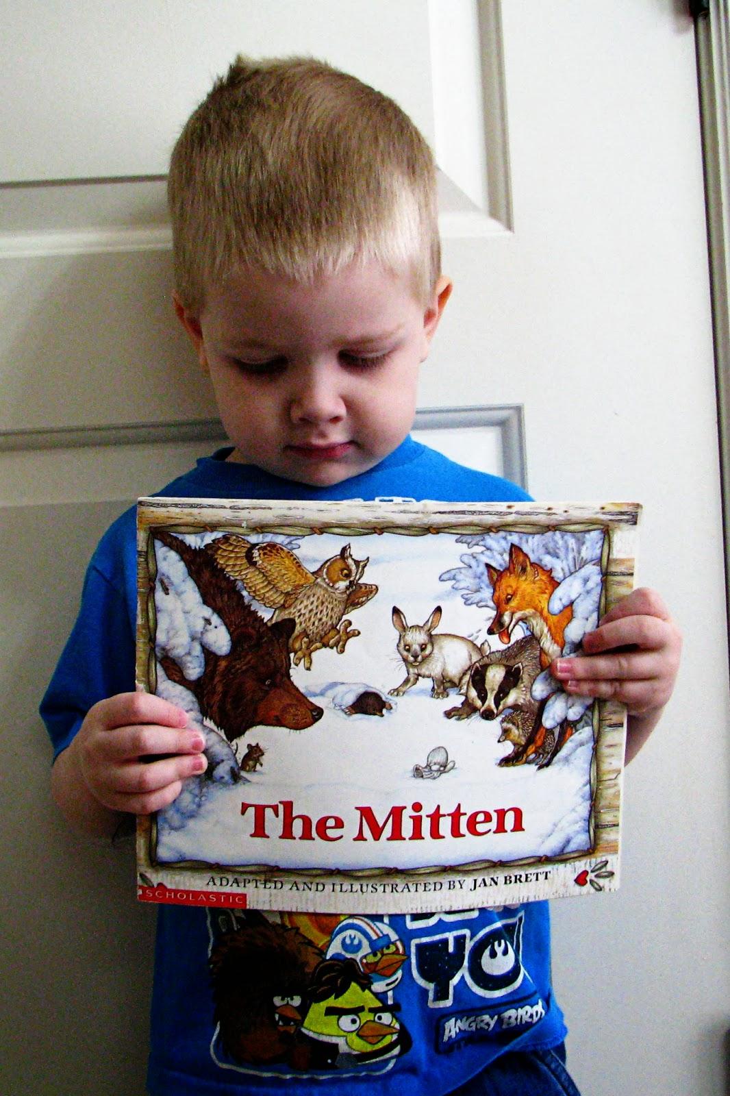 Mommy S Little Helper The Mitten Preschool Theme
