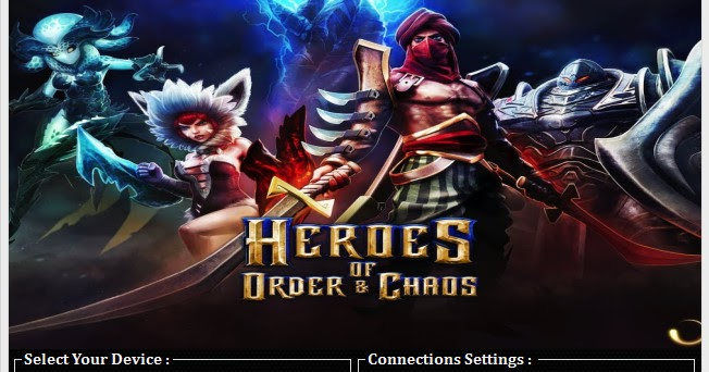 how to hack heroes of order and chaos