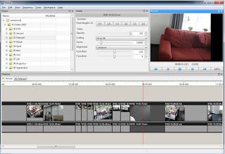برنامج  Vidiot 0.3.18 للتعديل على الفيديو