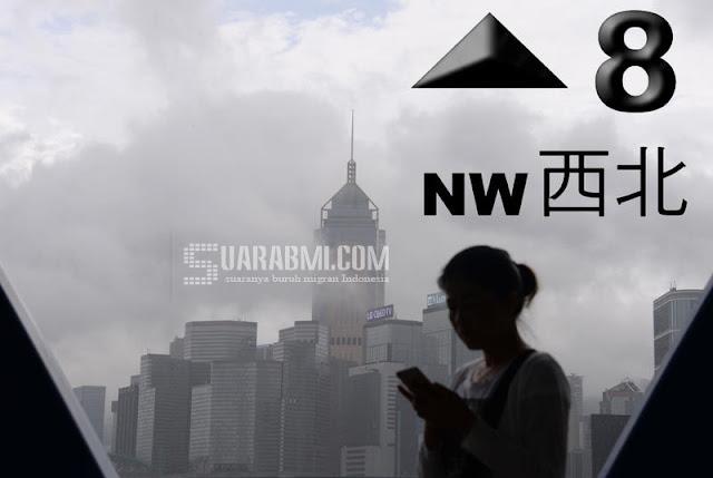 Observatory Hong Kong Keluarkan Peringatan Signal 8 Untuk Thypoon Haima, Ini yang Harus Kamu Lakukan