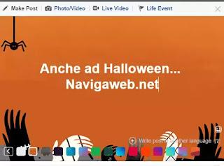 effetti halloween facebook