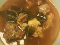 Resep Pindang Daging Daun Kedondong (Beef Stew With Kedondong Leaves)