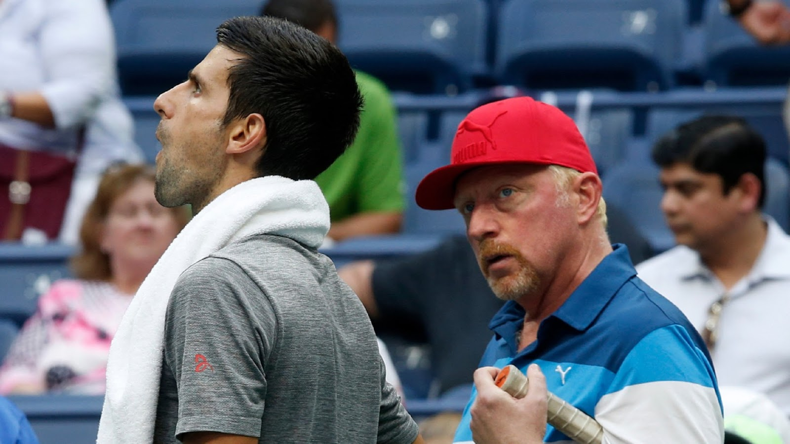 NOVAK DJOKOVIC, BORIS BECKER 2