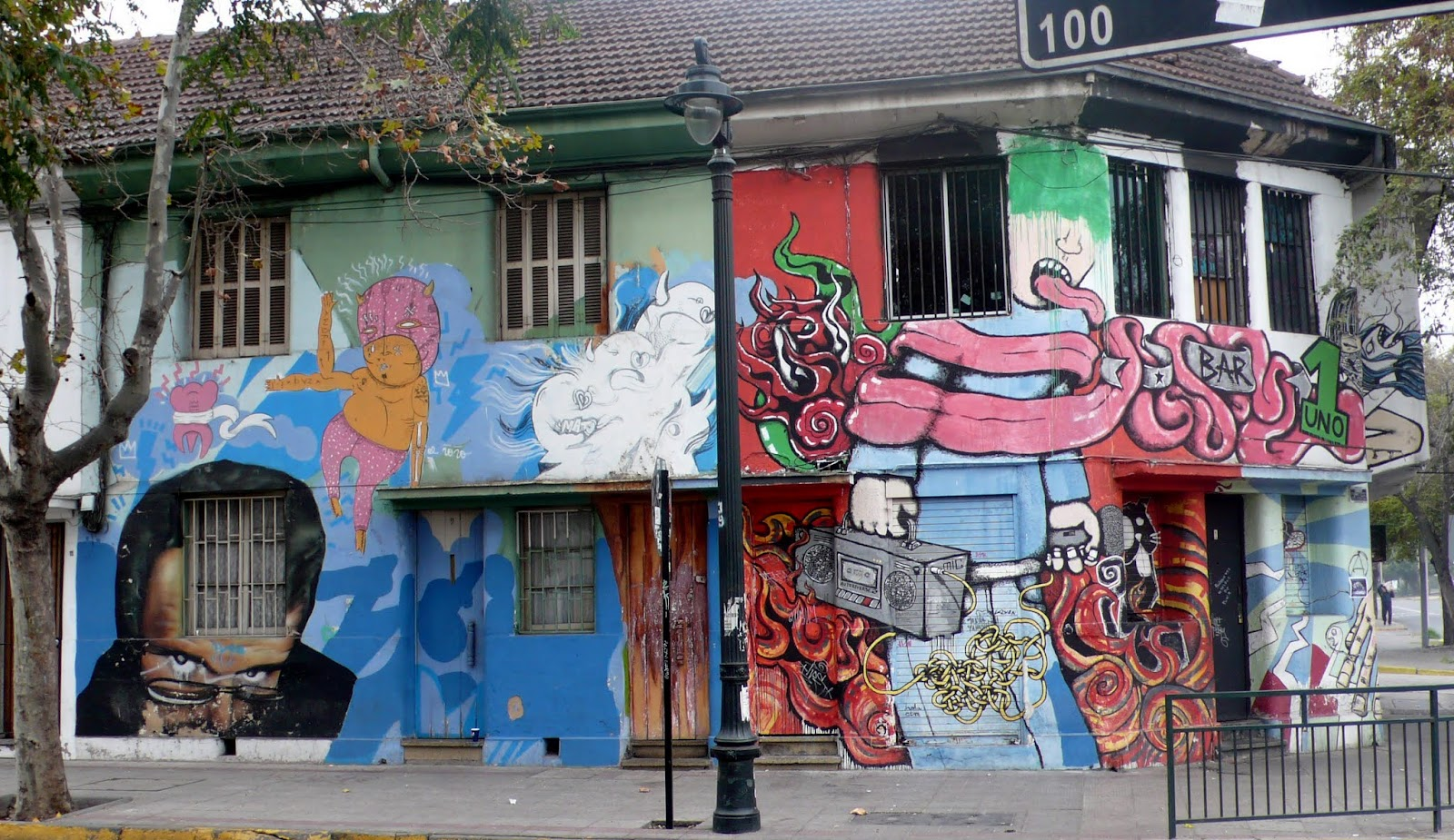 Make It Happen >> Uulitsakunst - Street art of Santiago de Chile - Arte Callejero de Santiago de Chile: Street art ...