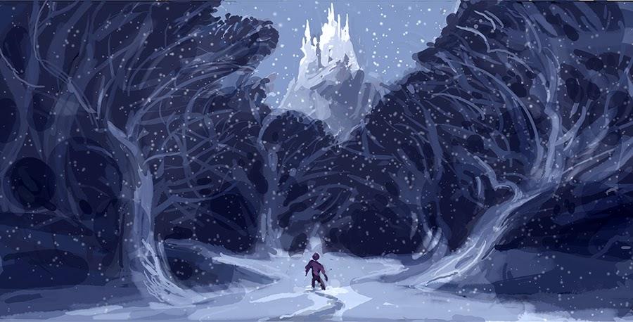 Snow Falling Background Wallpaper P A V E M E N T M O U S E Frozen