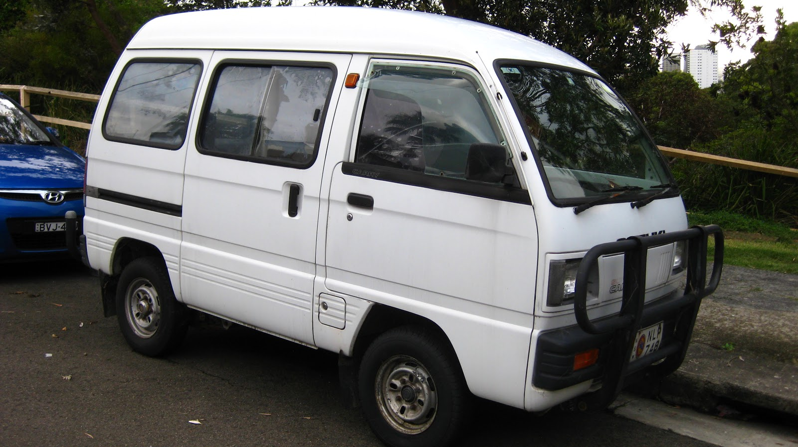 Aussie Old Parked Cars: 1988 Suzuki Super Carry (Autozam