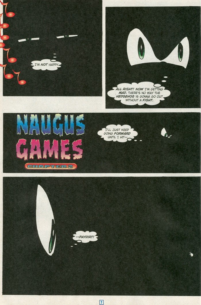 Read online Sonic Super Special comic -  Issue #15 - Naugus games - 10