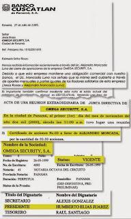 Alejandro Moncada Luna, con acciones en sociedad