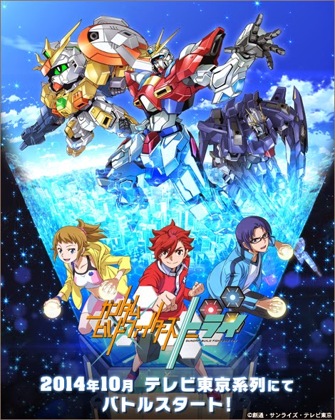 Gundam Build Fighters Season 2 / Gundam Build Fighters TRY