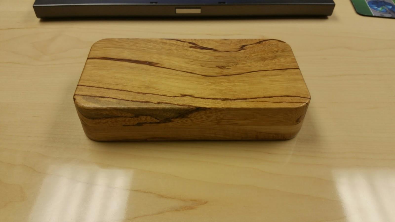 Bills Custom Wood Products Pill Box