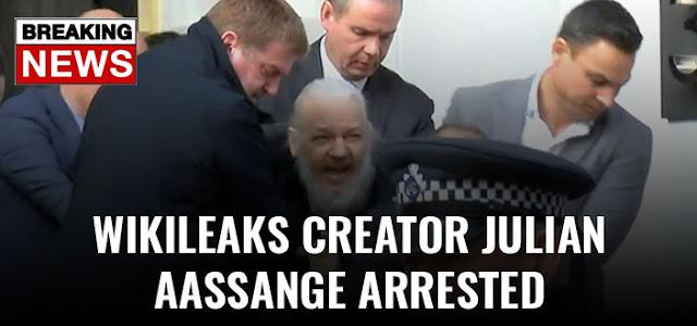 Julian Assange Arrested by British Police