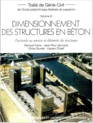Livre : Dimensionnement des structures en béton, aptitude au service et éléments de structures PDF