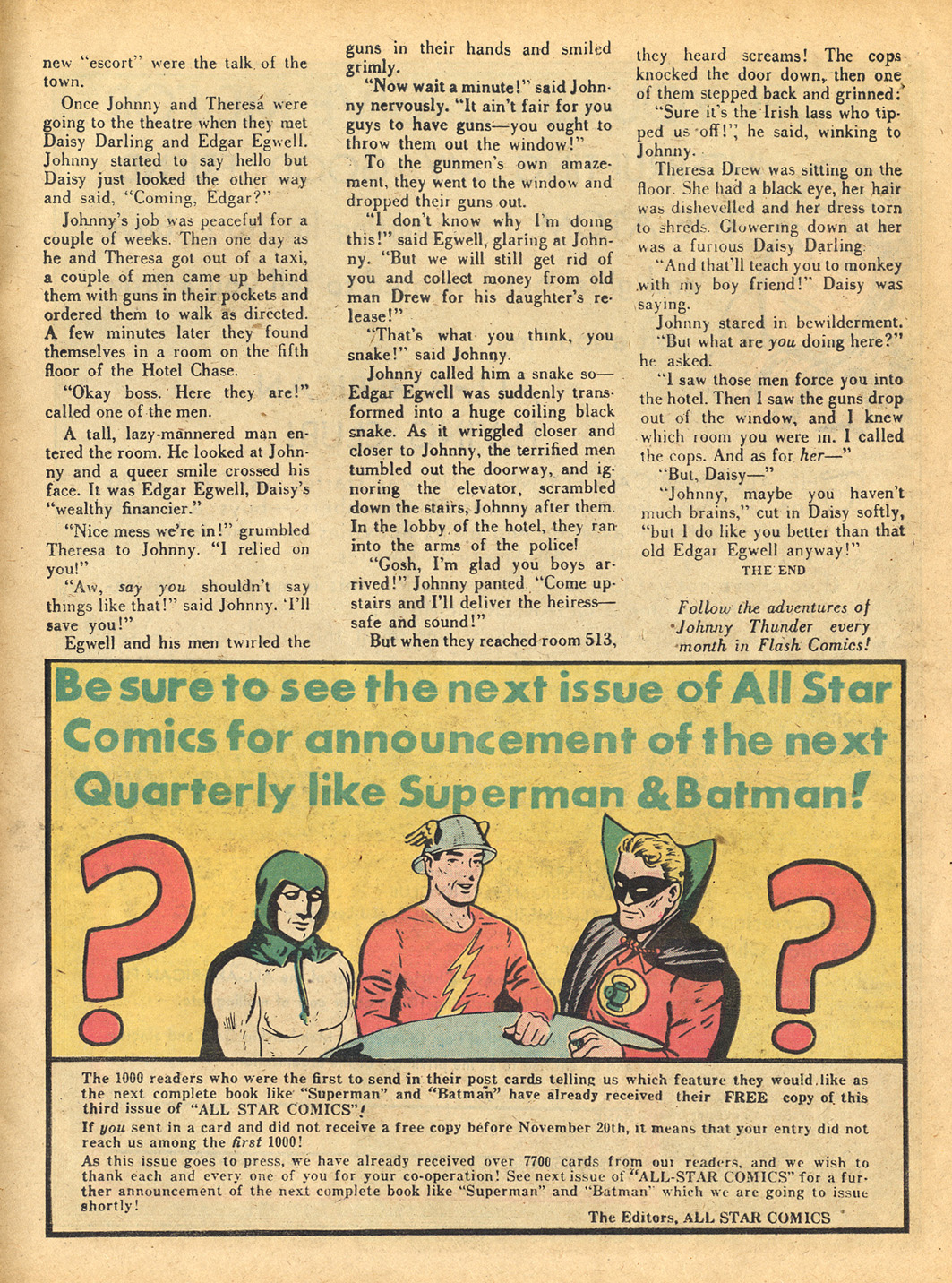 Read online All-Star Comics comic -  Issue #3 - 48