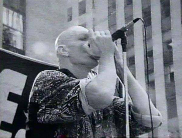 Peter Garrett in Midnight Oil - Black Rain Falls