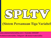 Bank Soal: SPLTV (Sistem Persamaan Linear Tiga Variabel) dan Pembahasan