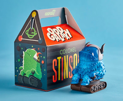 """Cobalt Cruiser"" Colonel Stinson Vinyl Figure by Invisible Creature x Super7"