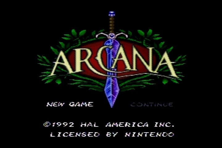 The RPG Consoler: Game #54: Arcana (SNES) - Spirits and