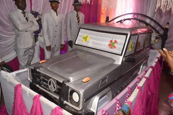 millionaire buried casket anambra