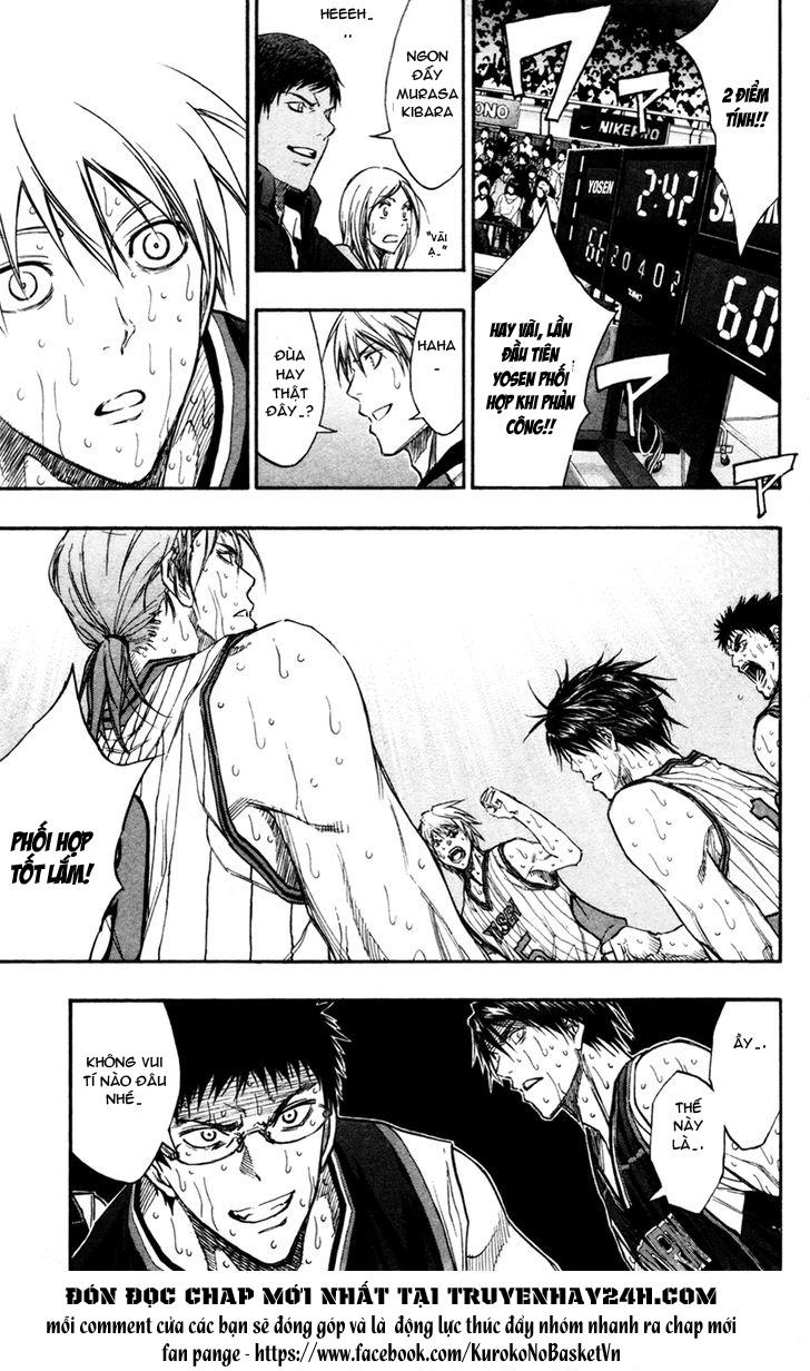 Kuroko No Basket chap 166 trang 10