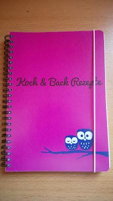 Mein Notizbuch Koch & Back Rezepte